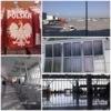 Photo: Warsaw airport postcard