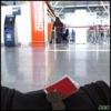 Photo: At Warsaw airport
