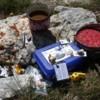Photo: Przerwa obiadowa-liczenie fałdów antyklino