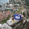 Photo: Wspinaczka murami twierdzy kotorskiej