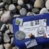 Photo: Na plaży GeoKret się smaży