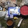 Photo: Przerwa obiadowa-liczenie fałdów anty