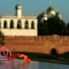 Photo: В Великом Новгороде на фоне