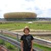 Photo: Stadion i junior - widok ze skrzynki