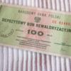 BON NBP - 100 zł. No.2