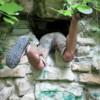 Photo: Ja do tej dziury nie włażę!