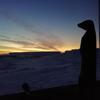 Photo: Разгар дня в полярную ночь