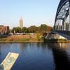 Photo: über die Sternbrücke in den Stadtpark