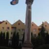 Photo: Kolumna Tron Łaski przy koście w Nowogrodźcu